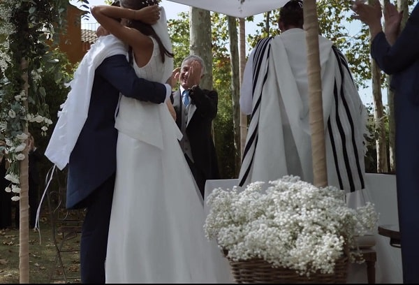 Emotional ecumenical wedding