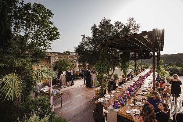 The farmhouse in Exciting Jewish Wedding at Casa Felix - Barcelona - Spain